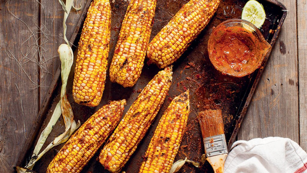 Terry Walters_Grilled Spicy Corn recipe